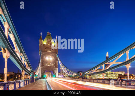 Tower Bridge, London, England, Vereinigtes Königreich, Europa - Stockfoto