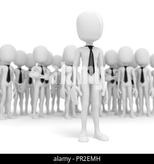 3d-Business Leader - Stockfoto