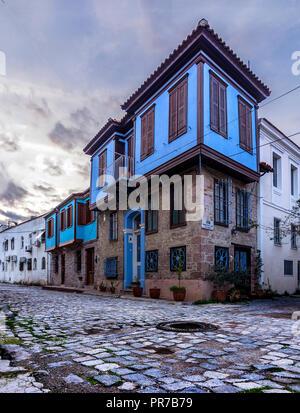 Altes Haus in der Ayvalik - Stockfoto