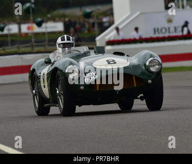 Peter Bradfield, Aston Martin DB 3 S, Freddie März Memorial Trophy, Sportwagen, 1952 bis 1955, Goodwood Revival 2018, September 2018, Automobile, Autos - Stockfoto