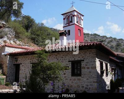 Alten byzantinischen Kirche in Mazedonien Kastoria Griechenland - Stockfoto
