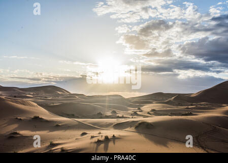 Merzouga Wüste, Marokko - Stockfoto