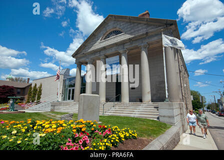 Pilgrim Hall Museum, Plymouth, Plymouth County, Massachusetts, USA - Stockfoto