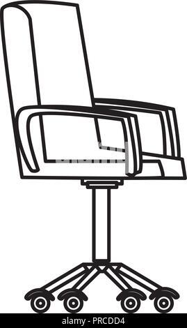 Weiches Leder Sessel In Seinem Buro Stockfoto Bild 181674456 Alamy