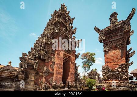 Puseh Batuan Tempel auf Bali, Indonesien. - Stockfoto