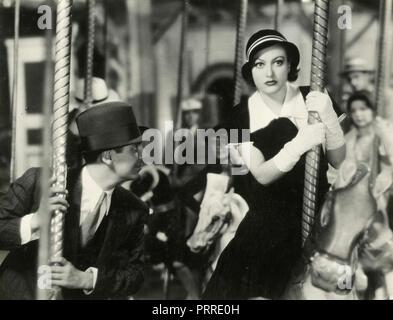 Schauspieler Joan Crawford und Franchot Tone im Film Tanzen Dame, USA 1933 - Stockfoto
