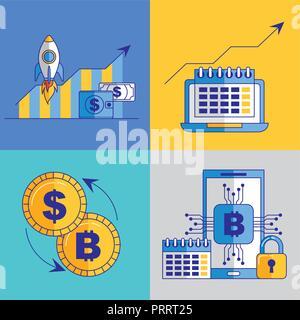 Fintech Geschäft - Stockfoto