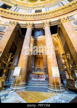 Innenansicht des Pantheon - Rom, Italien - Stockfoto