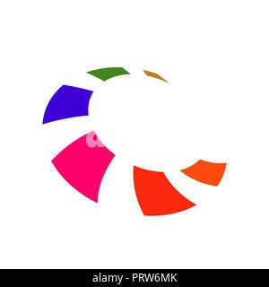 Buchstabe C logo Icon Design template Elemente Vector Illustration - Stockfoto