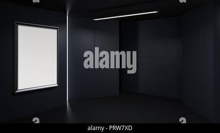 3d bilderrahmen mit beleuchtung. Black Bedroom Furniture Sets. Home Design Ideas