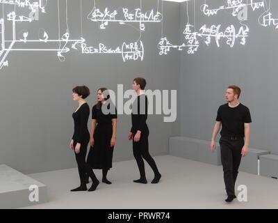 London, Großbritannien. 4. Okt 2018. Vorschau der Frieze Art Fair 2018, London, UK Credit: NASTJA M/Alamy leben Nachrichten - Stockfoto