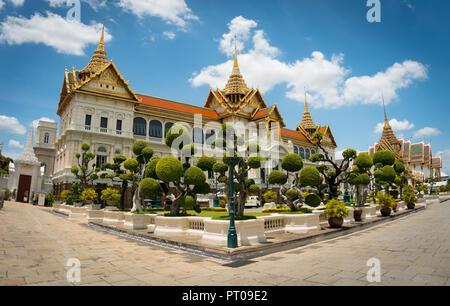 Phra Thinang Chakri Maha Prasat im Grand Palace, Bangkok, Thailand - Stockfoto