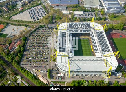 BVB gegen die TSG Hoffenheim, Signal Iduna Park BVB Stadion, Westfalenstadion, Bundesliga Stadion, Dortmund, Ruhrgebiet, Nordrhein-Westfalen, Deutschland, Europa - Stockfoto