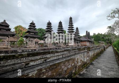 BALI INDONESIEN - Juli 14, 2018 Taman Ayun Tempel ist ein Königlicher Tempel von Mengwi Empire in Mengwi. Dies ist eines der Destination für Reisen - Stockfoto