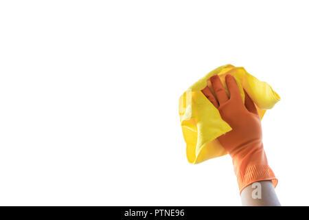 Reinigung Firma Konzept Mann Reinigung Der Fenster Stockfoto Bild