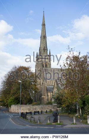 Lancaster Kathedrale, auch als die Kathedrale Kirche St. Peter und St. Peter's Cathedral in Lancaster, Großbritannien bekannt - Stockfoto