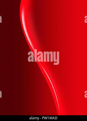 Leuchtend rote Farbe, Nagellack, Textur, Lack-, Farben-, Kosmetik - Stockfoto