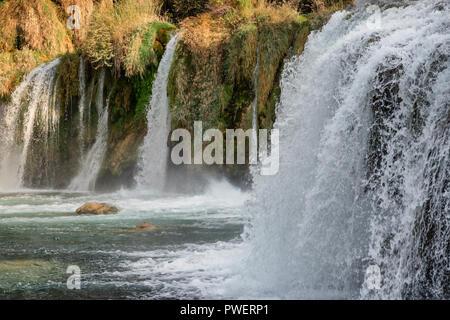 Nationalpark Krka Wasserfälle, Kroatien - Stockfoto
