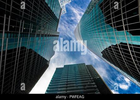 Wolkenkratzer im Finanzdistrikt