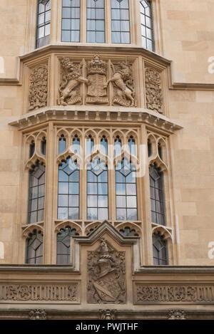 Die aussenfassade Speaker's House, die offizielle Residenz der Sprecher des Unterhauses, das Parlament, Westminster, London, Vereinigtes Königreich - Stockfoto