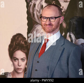 "London, Großbritannien. 18. Oktober, 2018. Mark Gatiss besucht die UK-Premiere von ""Der Favorit"" & American Express Gala am 62. BFI London Film Festival am 18. Oktober in London, England 2018. Credit: Gary Mitchell, GMP-Media/Alamy leben Nachrichten - Stockfoto"