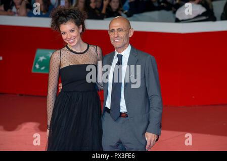 Rom, Italien. 18. Oktober, 2018. Gäste, die den roten Teppich am 13 Rom Film Fest Quelle: Silvia Gerbino/Alamy leben Nachrichten - Stockfoto