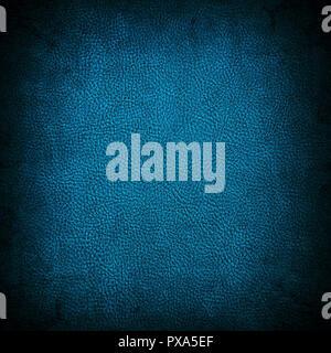 Schmutzig blau Leder Textur - Stockfoto
