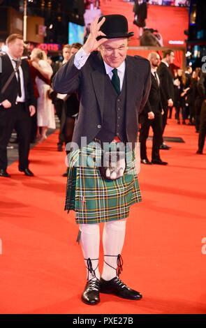 London, Großbritannien. Okt 2018 21. John C. Reilly, Stan & Ollie, BFI London Film Festival schließen Gala, Leicester Square, London.UK Credit: michael Melia/Alamy leben Nachrichten - Stockfoto