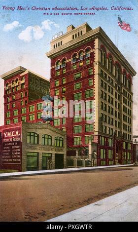 YMCA (Young Men's Christian Association), Los Angeles, Kalifornien, USA Datum: 1920 - Stockfoto