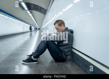 Verzweifelter single mann