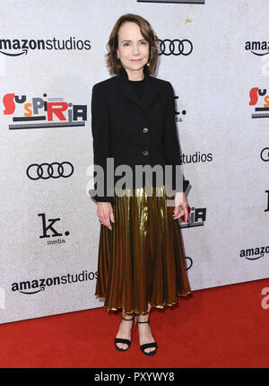 "Hollywood, CA, USA. 24 Okt, 2018. 24. Oktober 2018 - Hollywood, Kalifornien - Jessica Harper. ""Uspiria"" Los Angeles Premiere am Arclight Hollywood. Photo Credit: Birdie Thompson/AdMedia Credit: Birdie Thompson/AdMedia/ZUMA Draht/Alamy leben Nachrichten - Stockfoto"