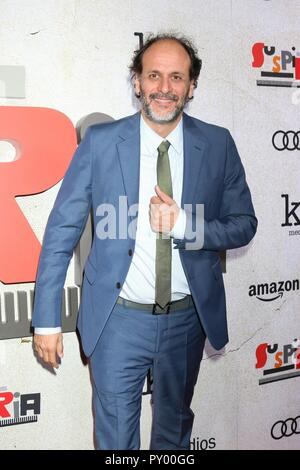 Los Angeles, CA, USA. 24 Okt, 2018. Luca Guadagnino in der Ankunftshalle für SUSPIRIA Premiere ArcLight Hollywood Cinerama Dome, Los Angeles, CA 24. Oktober 2018. Credit: Priscilla Grant/Everett Collection/Alamy leben Nachrichten - Stockfoto