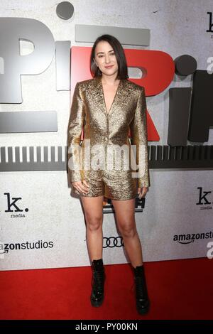 Los Angeles, CA, USA. 24 Okt, 2018. Zelda Williams bei Ankünften für SUSPIRIA Premiere ArcLight Hollywood Cinerama Dome, Los Angeles, CA 24. Oktober 2018. Credit: Priscilla Grant/Everett Collection/Alamy leben Nachrichten - Stockfoto