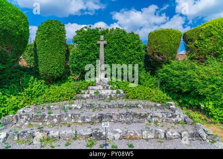 Die Ruinen von Shaftesbury Abbey, Shaftesebury, Dorset, England, Vereinigtes Königreich, Europa - Stockfoto