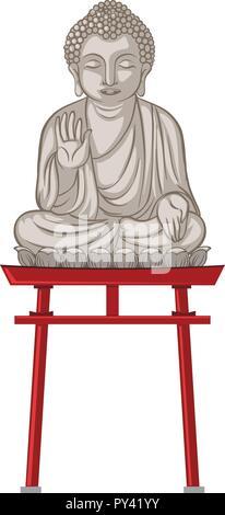 Giant Buddha Statue in Japan Abbildung - Stockfoto