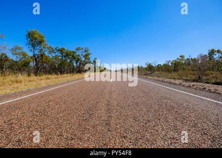 Outback Straßen in Queensland, Australien - Stockfoto