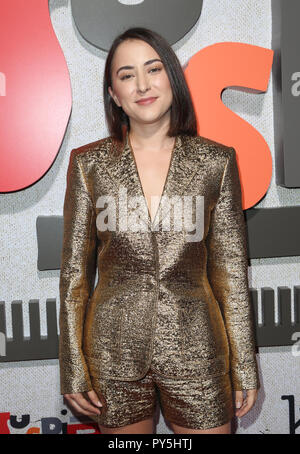 LOS ANGELES, Ca - 24. Oktober: Zelda Williams am Los Angeles Premiere von Suspiria am Arclight Hollywood Cinerama Dome am 24. Oktober 2018 in Los Angeles, Kalifornien. Credit: Faye Sadou/MediaPunch - Stockfoto