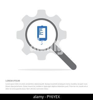 Blutbeutel Symbole - freien Vektor icon - Stockfoto