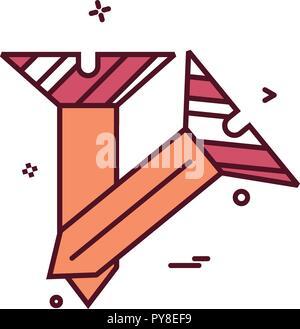 Nagel Symbol vektor design - Stockfoto