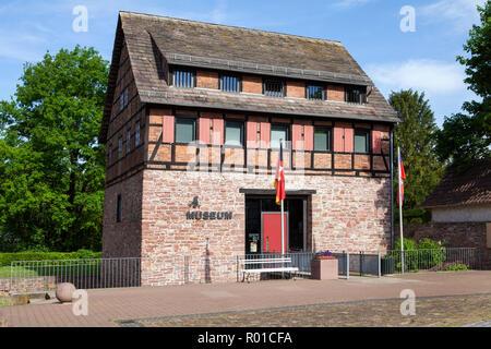 Baron Münchhausen Museum, Bodenwerder, Weserbergland, Niedersachsen, Deutschland, Europa