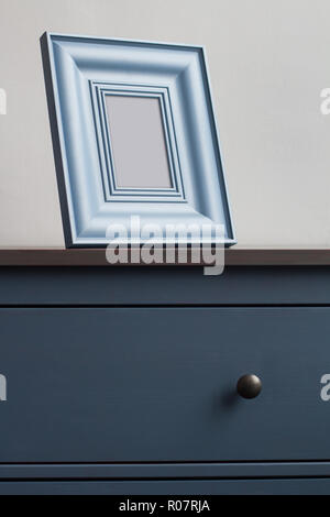 blaues dekor dekoration bilderrahmen gemustert grenze feld. Black Bedroom Furniture Sets. Home Design Ideas