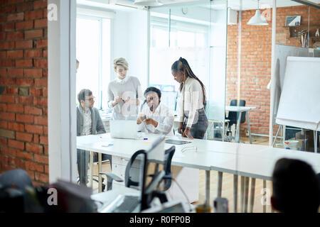Perspektive plan Der developming das Unternehmen - Stockfoto