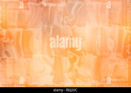 Abstract grunge orange Hintergrund im Alter von Textur - Stockfoto