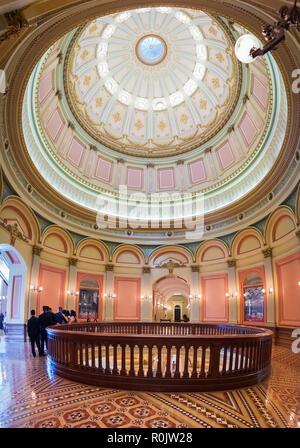 September 22, 2018 in Sacramento/CA/USA - Innen- Blick auf das State Capitol Building; - Stockfoto
