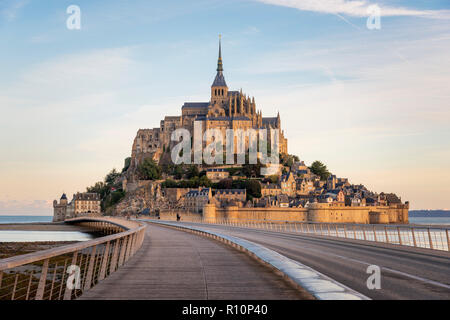 Mont Saint-Michel, Frankreich. - Stockfoto