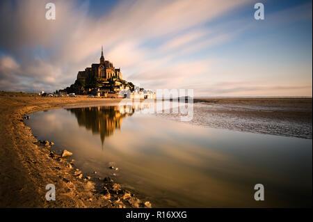 Mont St. Michel, Normandie, Frankreich - Stockfoto