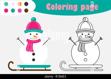 schneemann cartoon figur in einem flachen stil weihnachten charakter fr hlich niedlichen. Black Bedroom Furniture Sets. Home Design Ideas