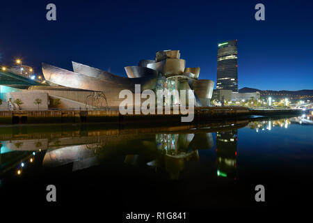 Guggenheim Bilbao - Stockfoto