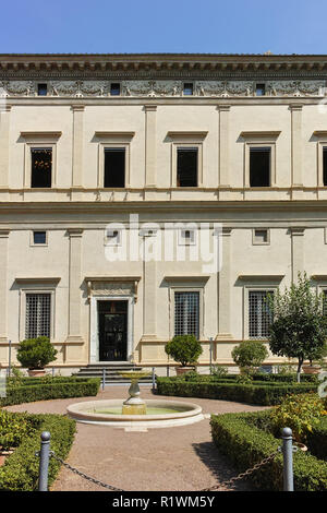 Rom, Italien, 23. JUNI 2017: Bau der Villa Farnesina in Trastavete Bezirk in der Stadt Rom, Italien - Stockfoto
