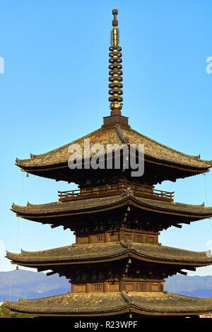 Yasaka Pagode in Gion, Kyoto, Kyoto, Japan, Asien - Stockfoto